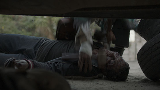 from the movie, Fear of the walking Dead during object tracking Porcess