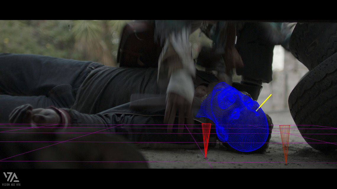After the object tracking process in fear the walking dead